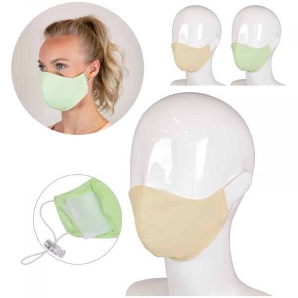 Herbruikbaar gezichtsmasker medisch katoen 3-laags LT93955 1
