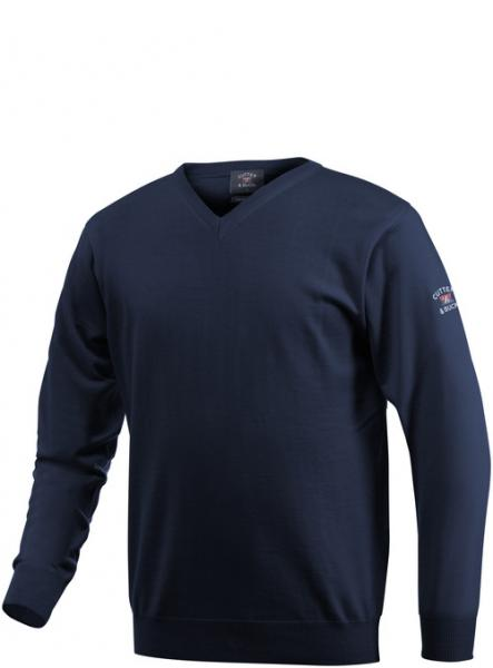 C&B Everett Heren V neck pullover 1
