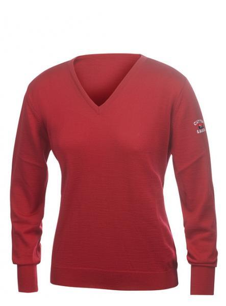 C&B Everett Dames V-neck pullover 1
